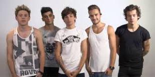FROM LEFT: Niall , Zayn, Louis, Liam , Harry